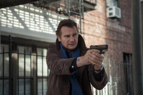 Liam Neeson Brown Cotton Jacket
