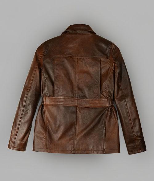 Katniss Everdeen Brown Leather Jacket