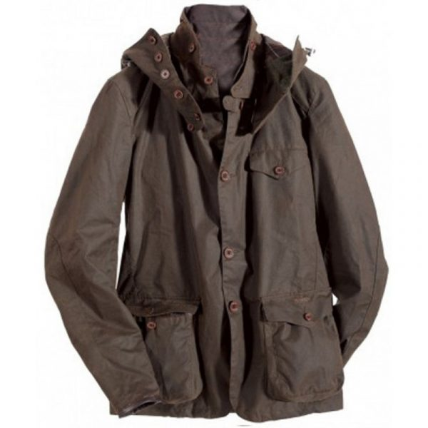Daniel Craig Sky Fall Brown Cotton Jacket