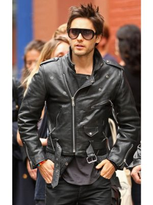 30 Seconds To Mars Jared Leto Leather Jacket-0