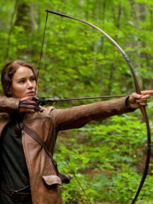 The Hunger Games Jennifer Lawrence Leather Jacket