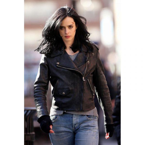 Jessica Jones Black Biker Jacket