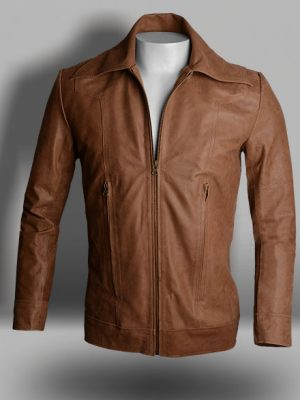 Wolverine Brown Leather Jacket