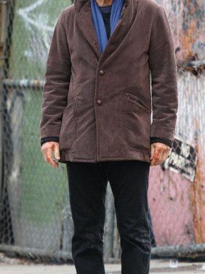A Walk Among Liam Neeson Cotton Jacket