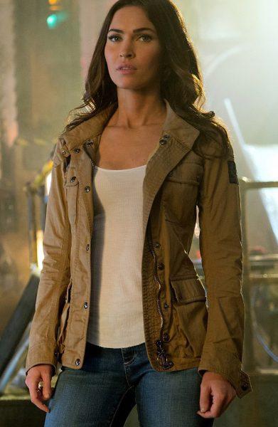 Megan Fox Teenage Mutant Ninja Turtles 2 Jacket-0