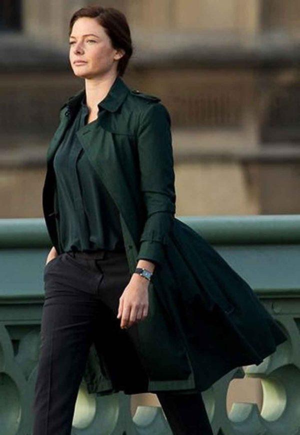 Rebecca Ferguson MI5 Green Coat