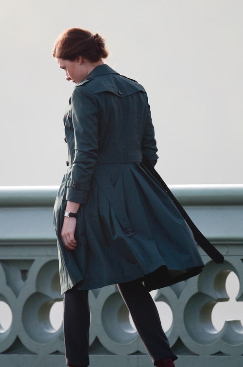 MI5 Rebecca Ferguson Trench Coat