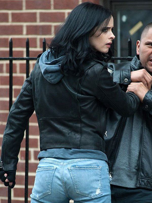 Krysten Ritter Jessica Jones Leather Jacket
