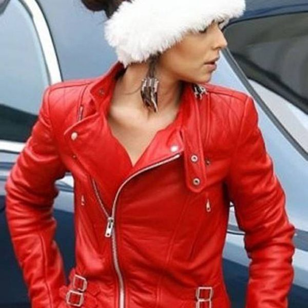 New Cheryl Cole Santa Claus Inspired Jacket-0