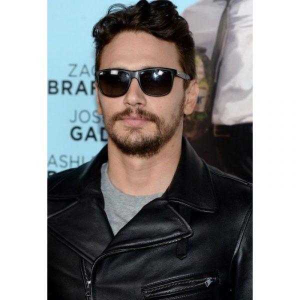 New James Franco Biker Style Leather Jacket