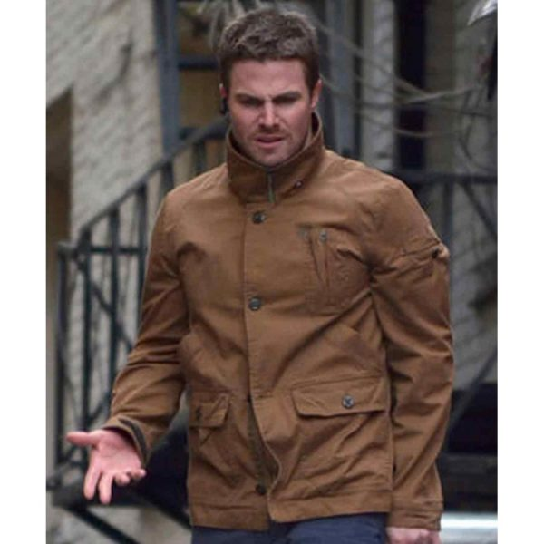 Arrow Stephen Amell Jacket-0