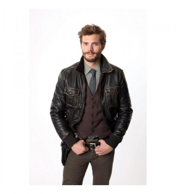 Once Upon A Time Sheriff Garham Jacket-0