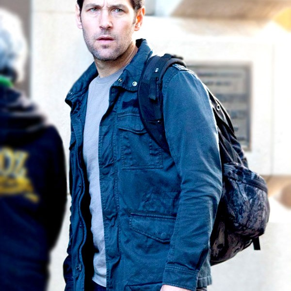 Paul Rudd Ant-Man Black Jacket