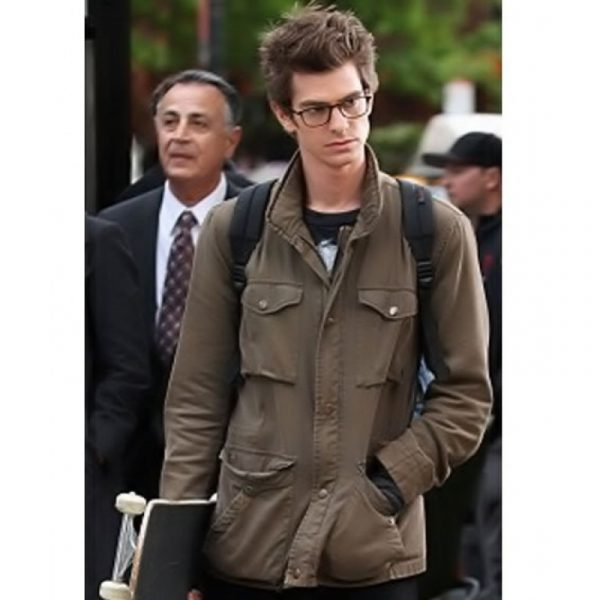 Amazing Spiderman Peter Parker Cotton Jacket For Men-0