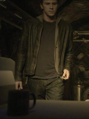 Sam Flynn Distressed Leather Jacket