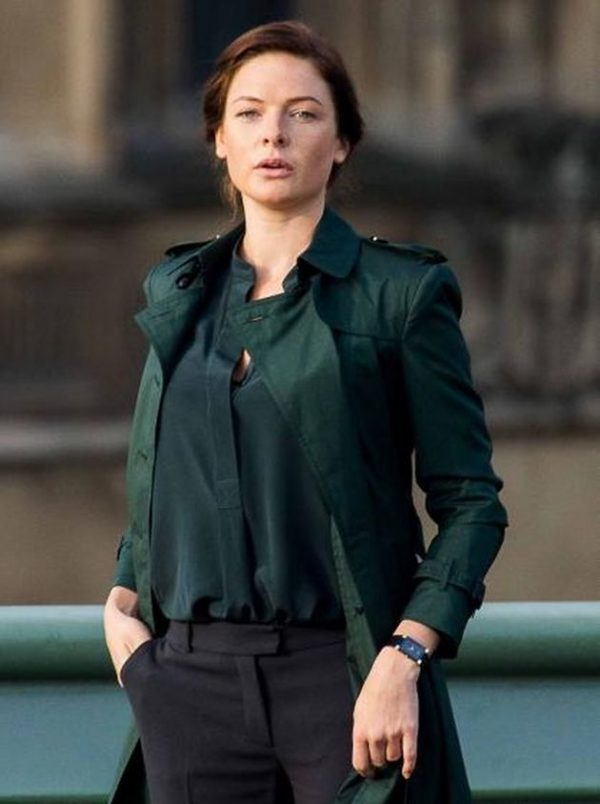 Mission Impossible 5 Rebecca Ferguson Coat-0