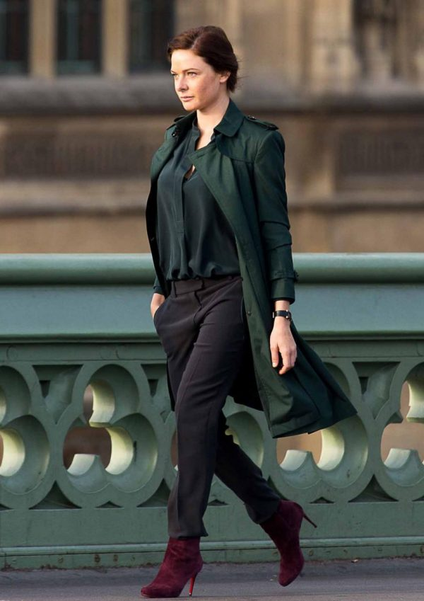 Mission Impossible 5 Green Coat