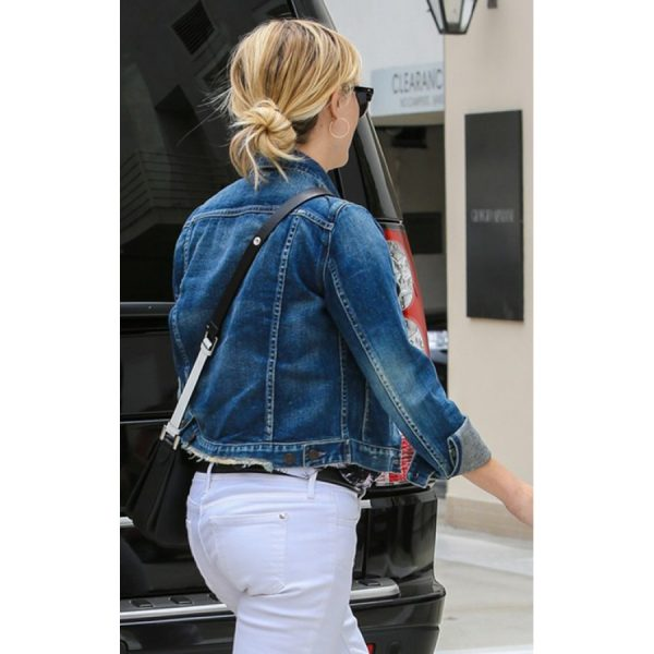 Reese Witherspoon Blue Jacket