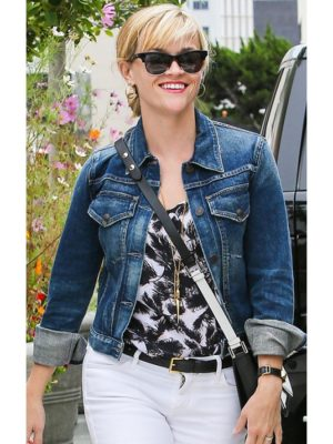 Reese Witherspoon Denim Jean Jacket-0