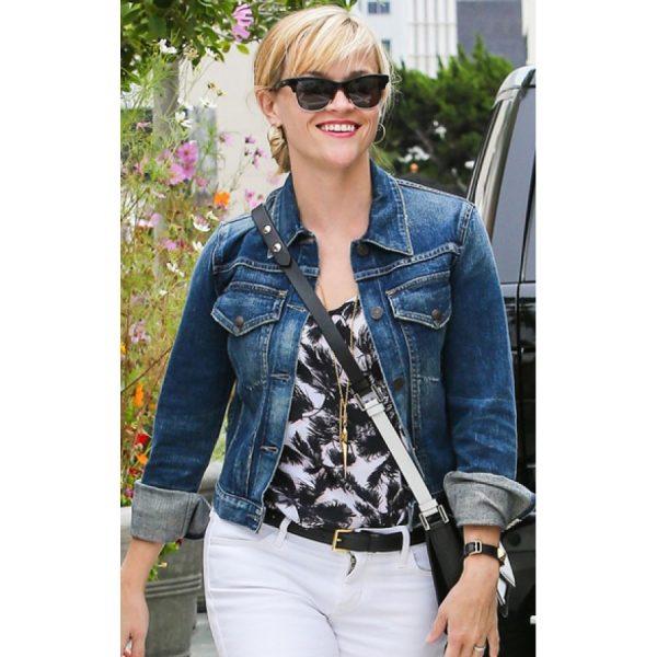Reese Witherspoon Denim Jean Jacket-0