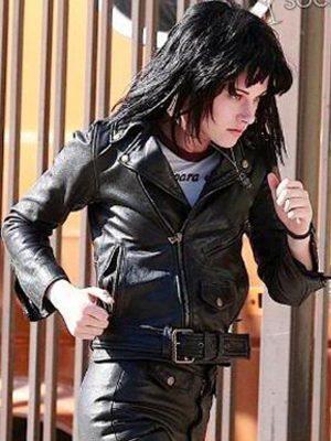 The Runways Kristen Stewart Leather Jacket