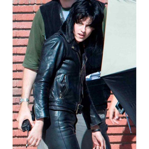 The Runways Kristen Stewart Black Biker Jacket