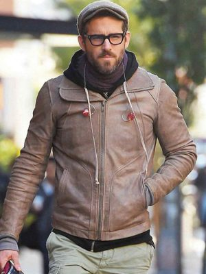 Ryan Reynolds Biker Jacket-0