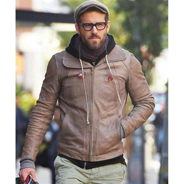 Ryan Reynolds Biker Jacket-0