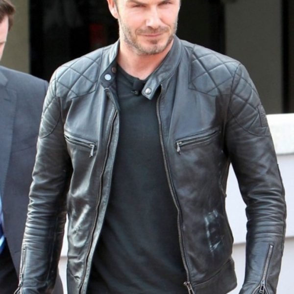 David Beckhan Brazil Airport Jacket