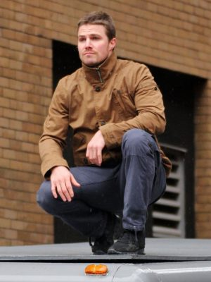 Arrow Sthephen Amell Cotton Jacket