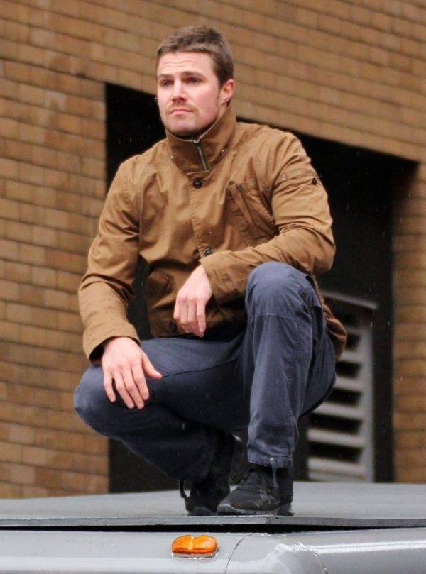 Arrow Sthephen Amell Cotton Jacket