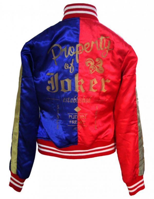 Suicide Squad Harley Varsity Jacket