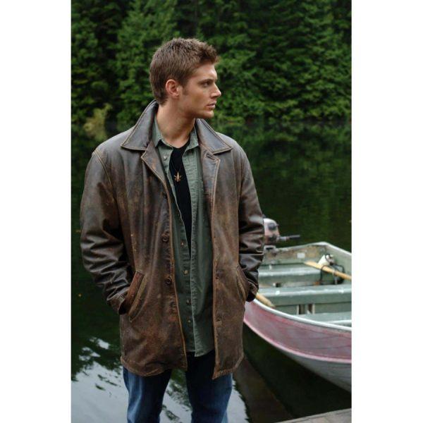 Dean Winchester Supernatural Distressed Jacket