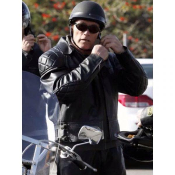Arnold Schwarzenegger Terminator 5 Jacket-0