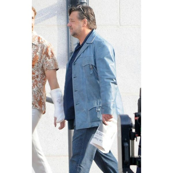 The Nice Guys Russell Crowe Blue Jacket