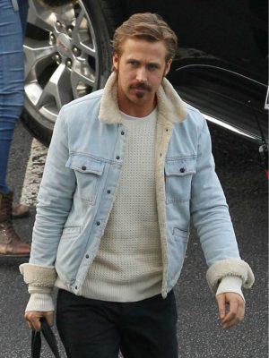 The Nice Guys Ryan Gosling Fur Jacket-0