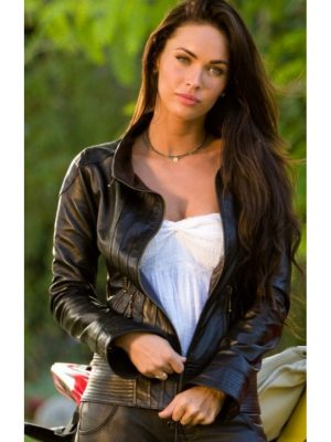 Megan Fox Transformers 2 Biker Jacket