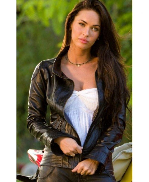 Megan Fox Transformers 2 Biker Jacket
