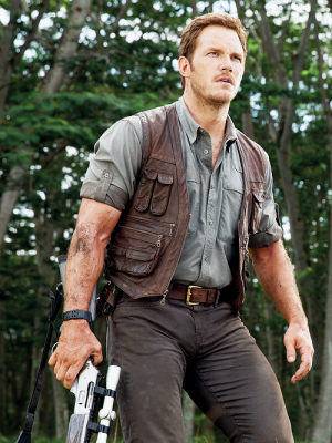 Chris Pratt Owen Jurassic World Vest-0