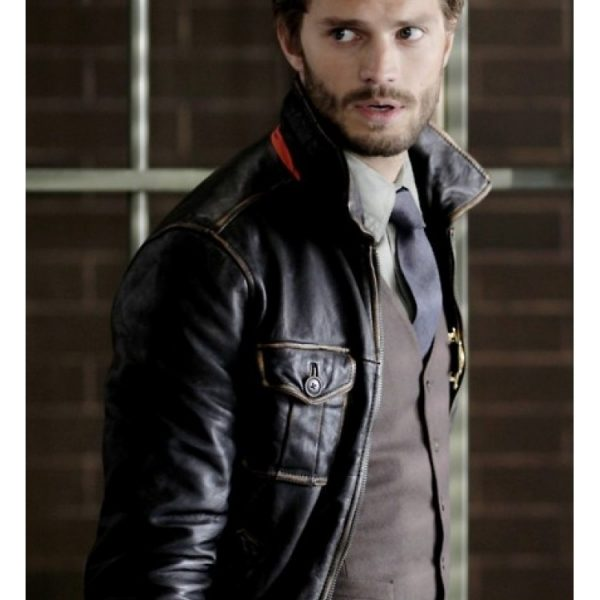 Sheriff Garham Once Upon a Time Leather Jacket