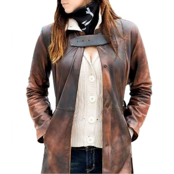 Women's Watch Dogs Trench Coat-0
