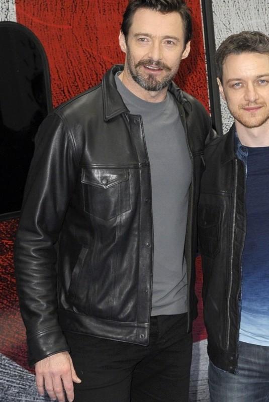 New X Men Hugh Jackman Jacket-0