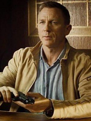 Daniel Craig James Bond Morocco Suede Spectre Jacket-0