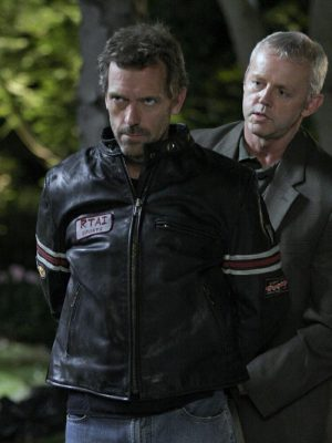 Rtai Sports DR House MD Leather Jacket-0