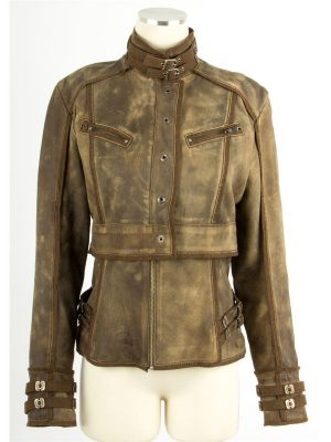 Jessica Biel Total Recall Jacket