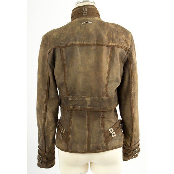 Jessica Biel Brown Jacket