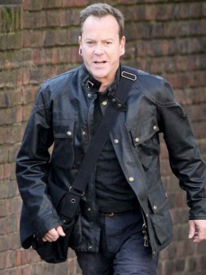 24 Live Another Day Jack Bauer Black Jacket