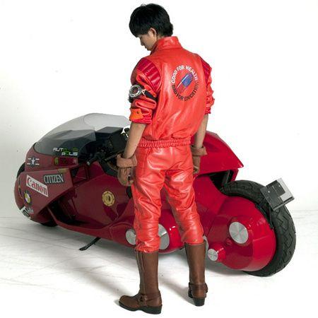 Akira Kaneda Red Capsule Jacket