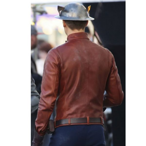 The Flash Brown Leather Jacket