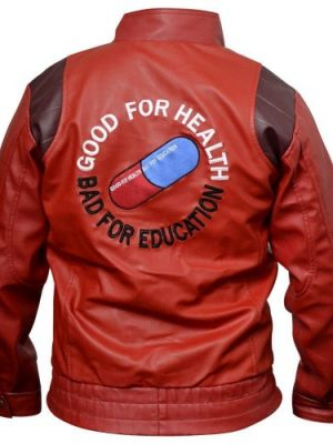 Akira Pill Kaneda Capsule Red Leather Jacket-0
